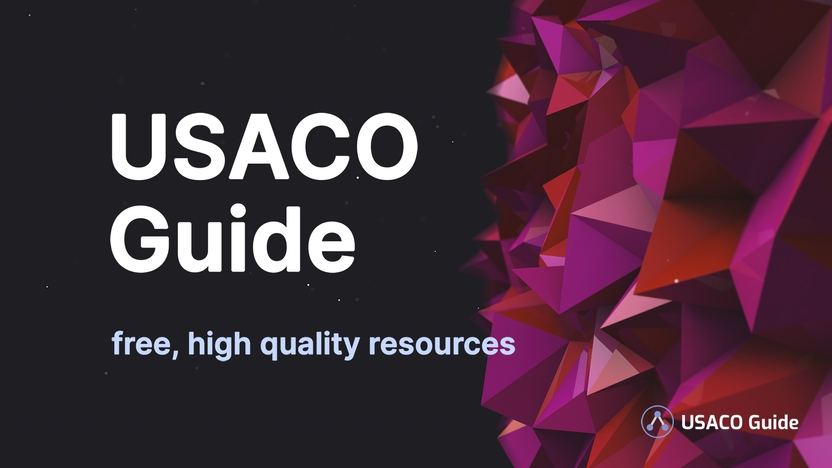 USACO Guide Banner